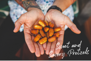 Labor Day Sweet and Savory Pretzels