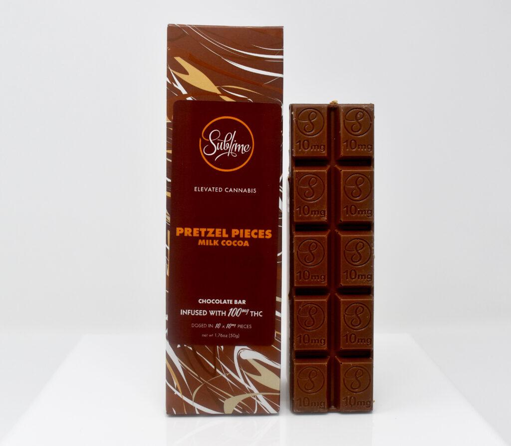 Pretzel Pieces Milk Chocolate